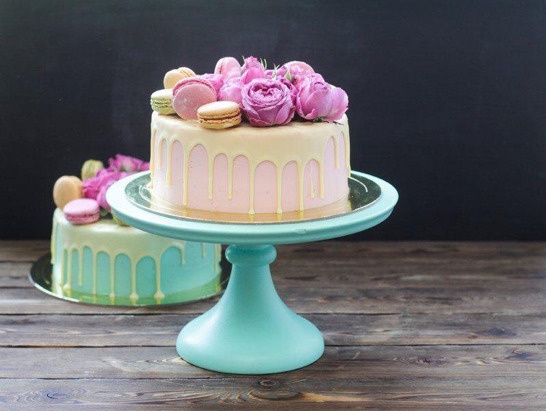 Белый шоколад для покрытия торта