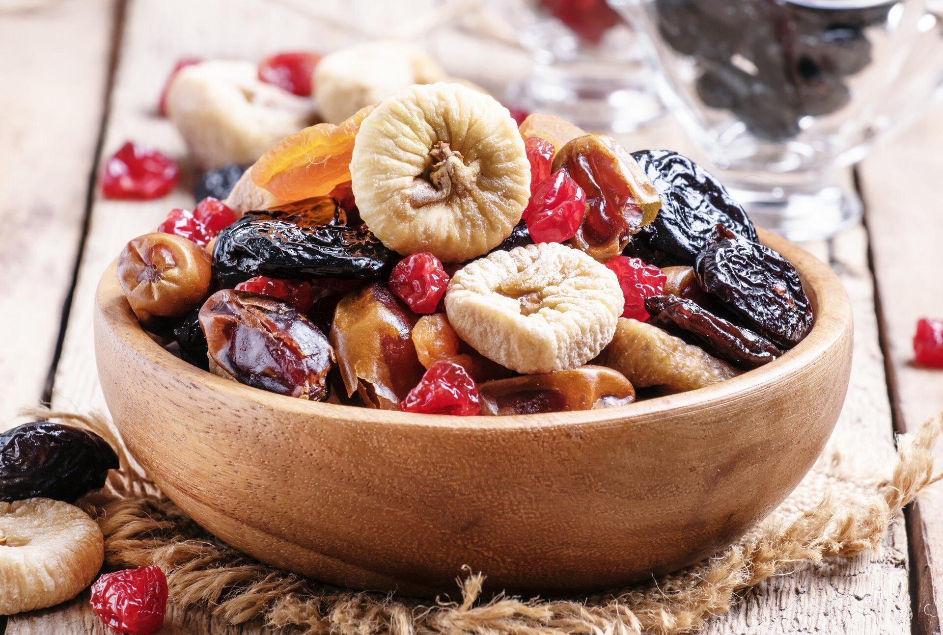 Cублимированные ягоды и фрукты